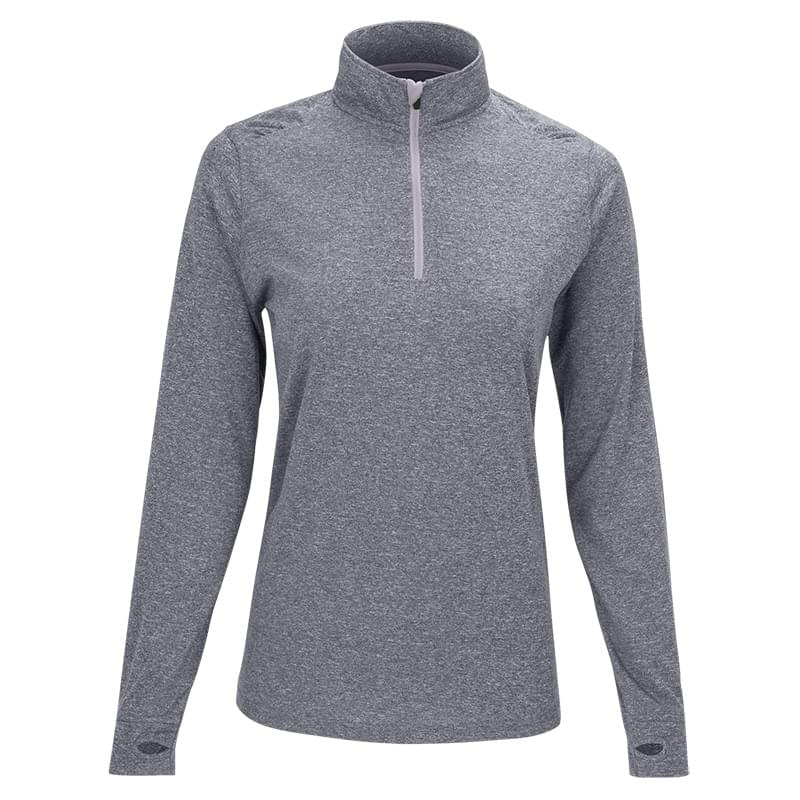 Women's Vansport™ Mélange 1/4-Zip Tech Pullover