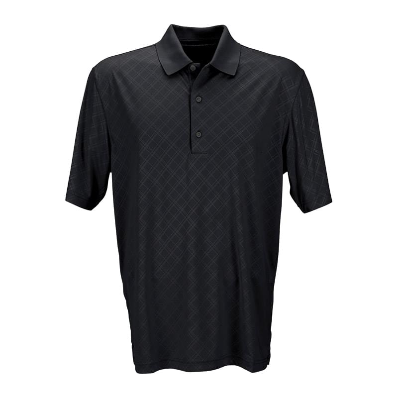Play Dry® Diamond Embossed Polo