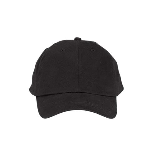 Solid Lightweight Brushed Twill Cap