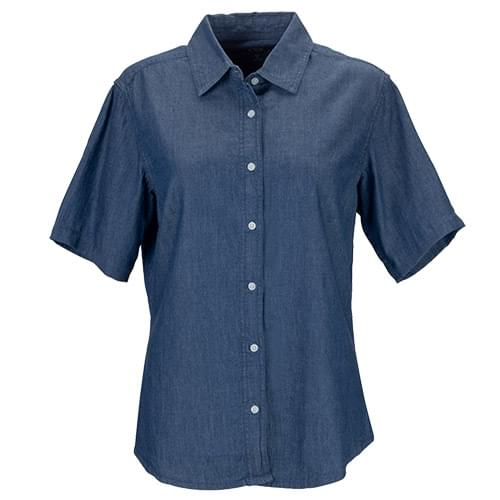 Women's Short-Sleeve Hudson Denim Shirt