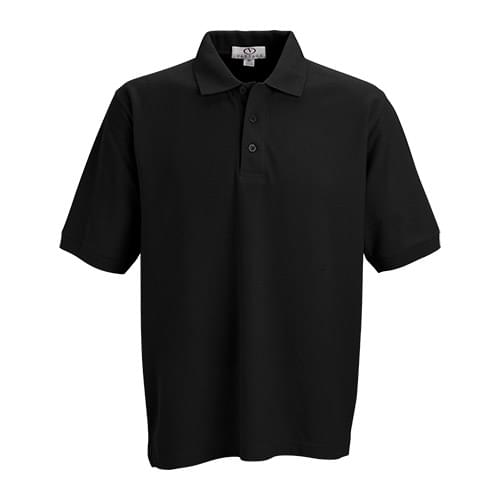 Soft-Blend Pique Polo