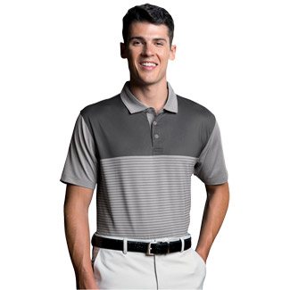 Vansport™ Pro Tonal Block Stripe Polo