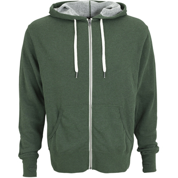 Unisex Heather French Terry Full-Zip Hoodie