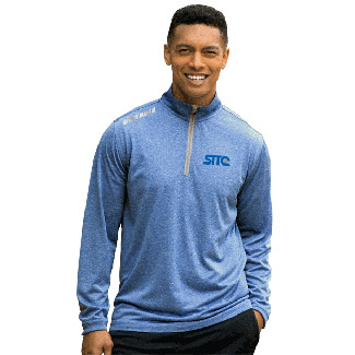 Vansport™ Mélange 1/4-Zip Tech Pullover