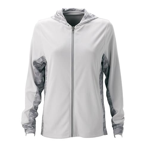 Women's Vansport™ Pro Camo Block Full-Zip Hoodie