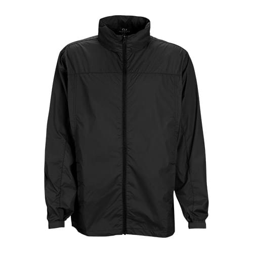 Full-Zip Lightweight Hooded Jacket