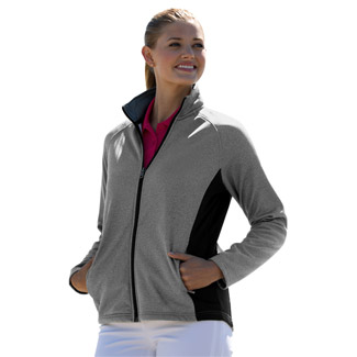Women's Vansport™ Heathered Blocked Knit Jacket