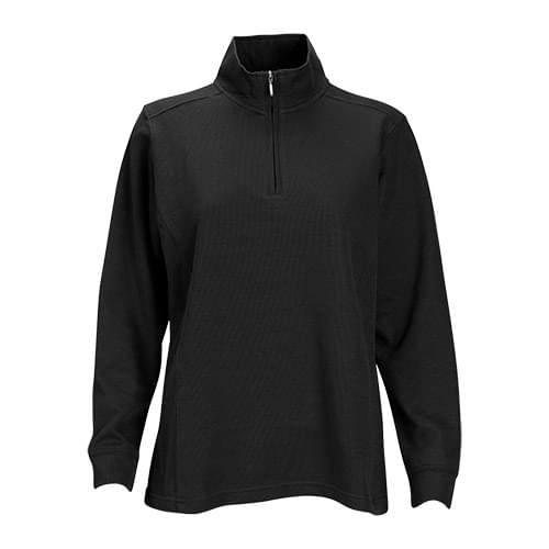 Women's 1/4-Zip Flat Back Rib Pullover