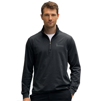 Greg Norman Heathered 1/4-Zip Pullover