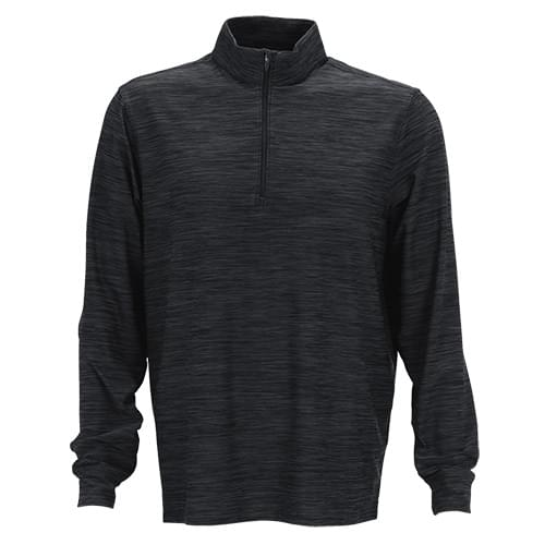 Greg Norman Play Dry® Heather 1/4-Zip Mock Neck