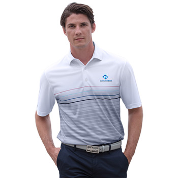 Greg Norman Play Dry® ML75 Stripe Print Polo
