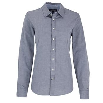 Women's Tommy Hilfiger Chambray Button-Down Shirt