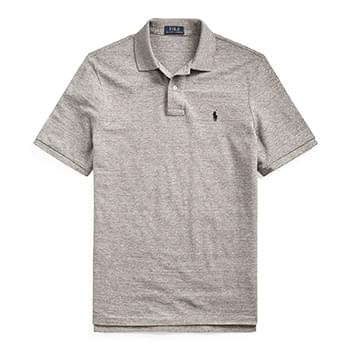 Classic Fit Mesh Polo
