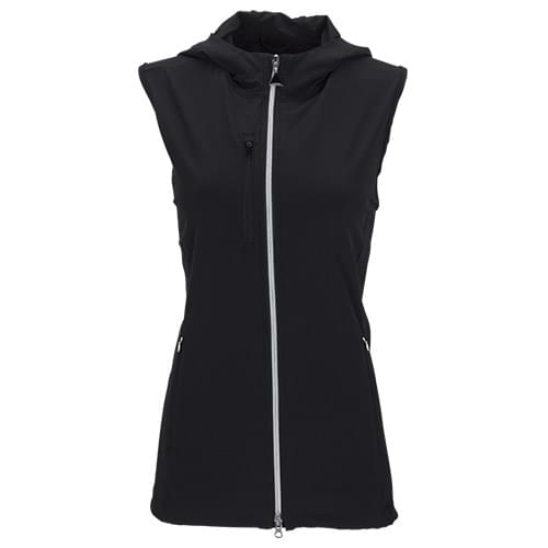 Women's Greg Norman Windbreaker Full-Zip Hooded Vest